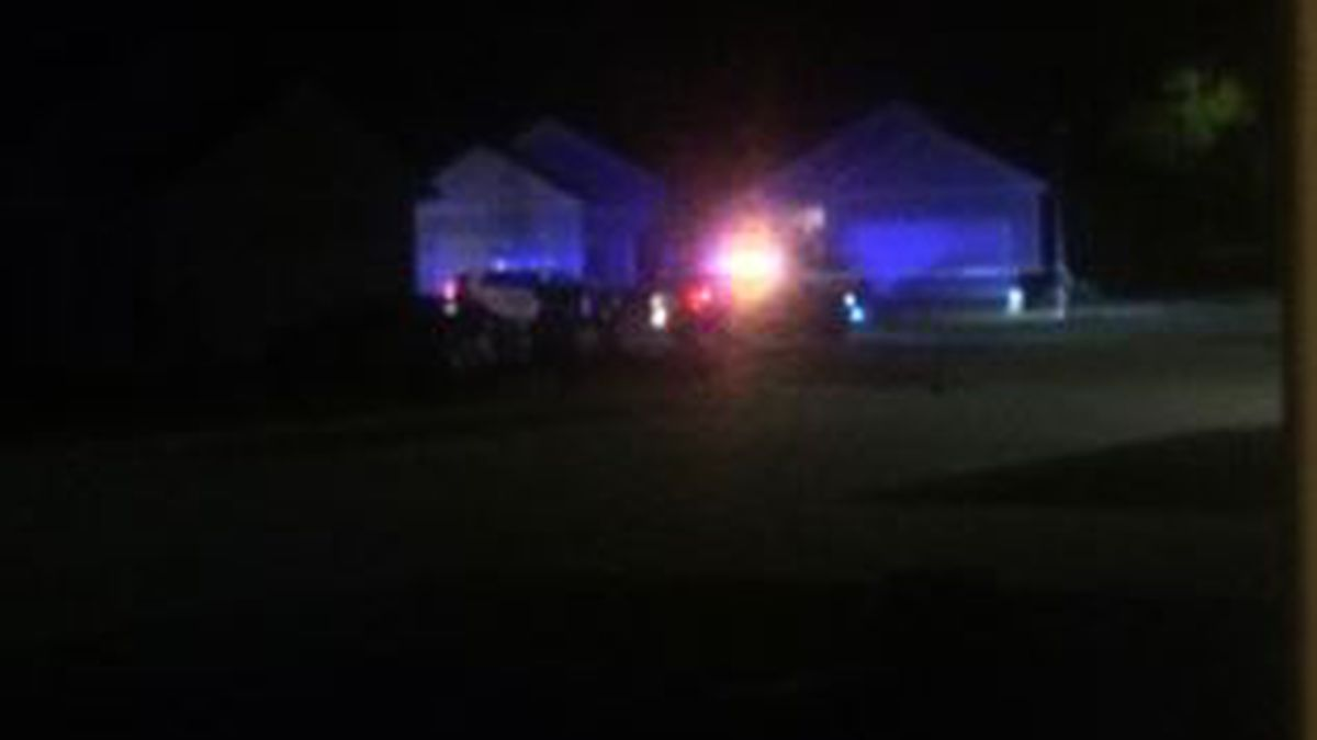 Pineville Police and RPSO units on the scene in Wardville where a shooting victim was found...