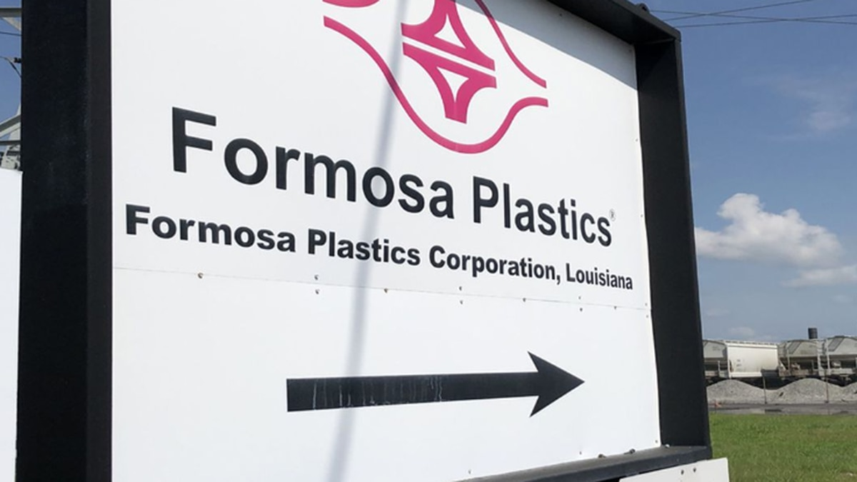 Image: Formosa Plastics has a production facility in Baton Rouge. (Source: WAFB)