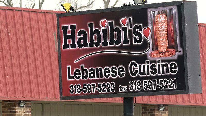 Habibi's Lebanese Cuisine in Marksville, La.