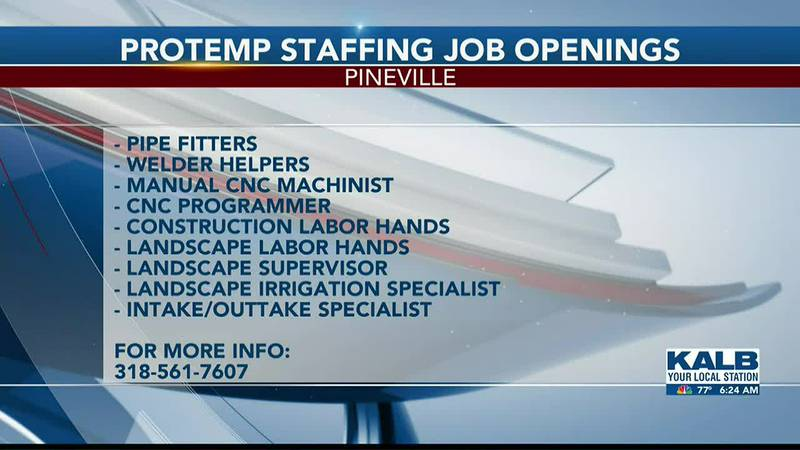 Protemp Staffing job opportunities