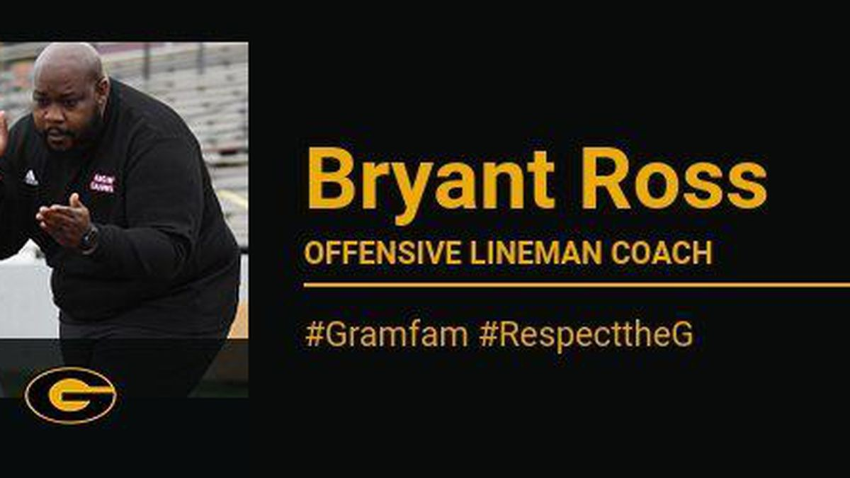 Grambling State University football announces Bryant Ross as new offensive lineman coach