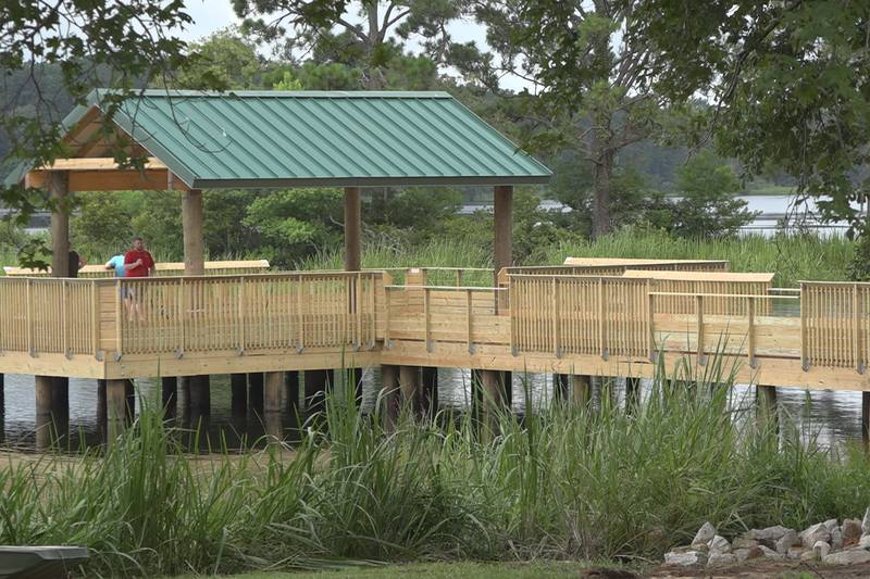 FILE: Indian Creek Recreation Area, the recipient of the 2020 campground and RV park of the...