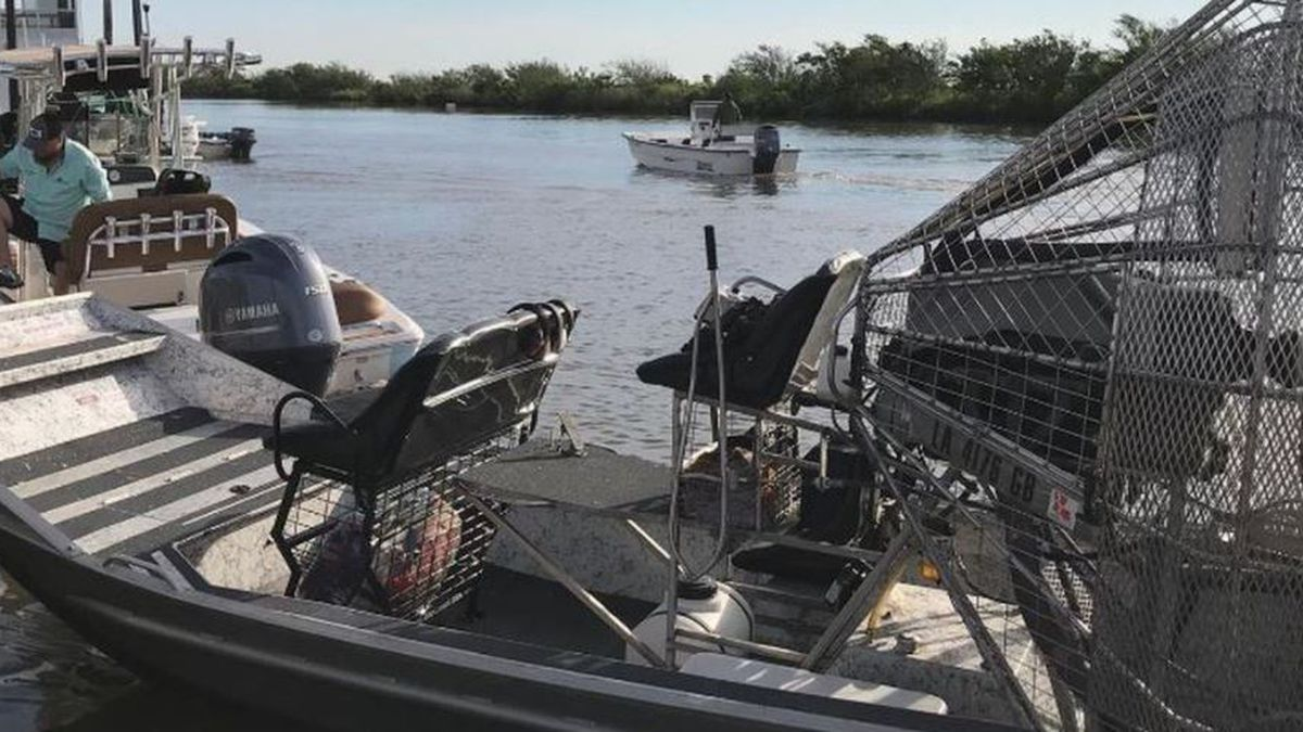 According to Adams, they received a report of a body floating by a rig Friday morning, April 30.