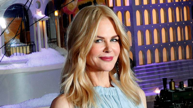 FILE - In this Nov. 7, 2017, file photo, Australian actress Nicole Kidman poses as she...