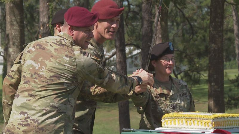 Soldiers celebrate the army's 246th birthday, and Fort Polk's 80 years in Central Louisiana.