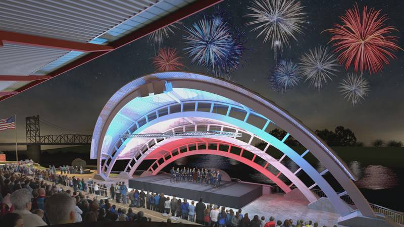 The Amphitheater in downtown Alexandria will soon be getting some major upgrades with the hopes...