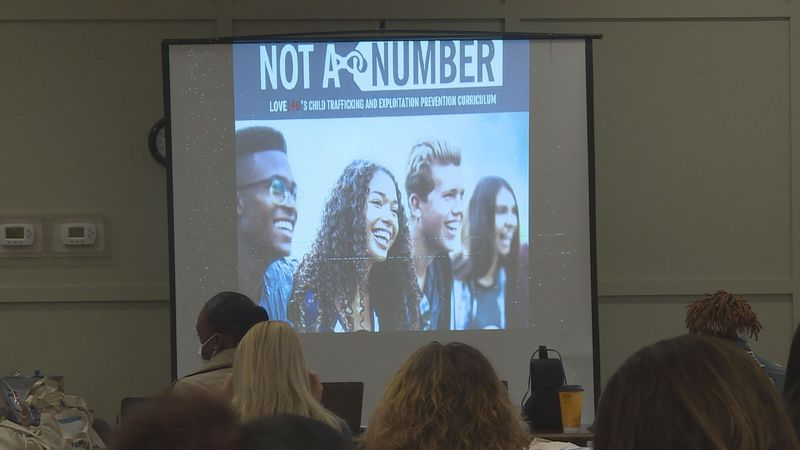Local agencies met in Pollock to learn how to stop human trafficking.