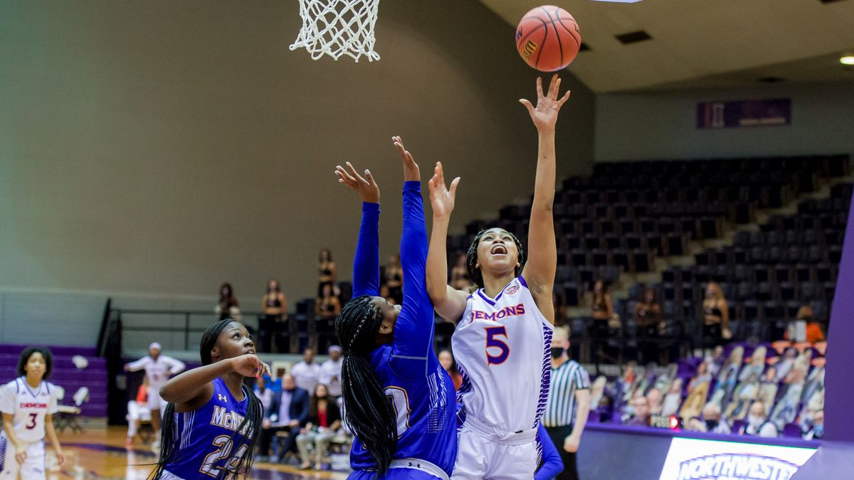 The Northwestern State women's basketball team played perhaps its finest first quarter of the...