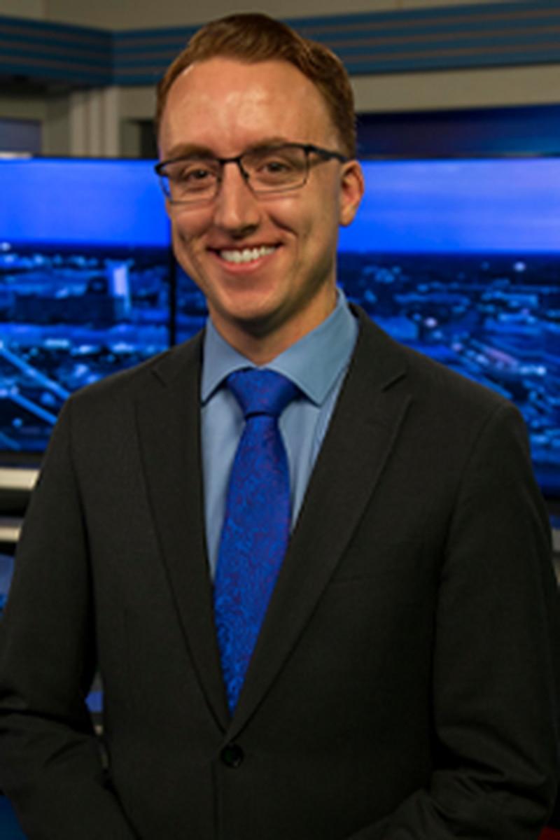 Headshot of Tyler Hall, Morning Forecaster