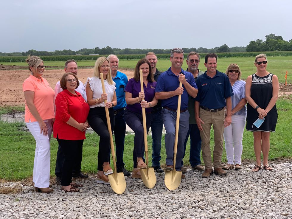 2 Sister's Salsa Company held a groundbreaking for their new warehouse on Thursday, June 25.