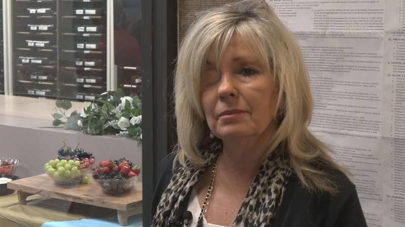 Sandra Bonnette, the Rapides Registrar of Voters on October 22, 2021.