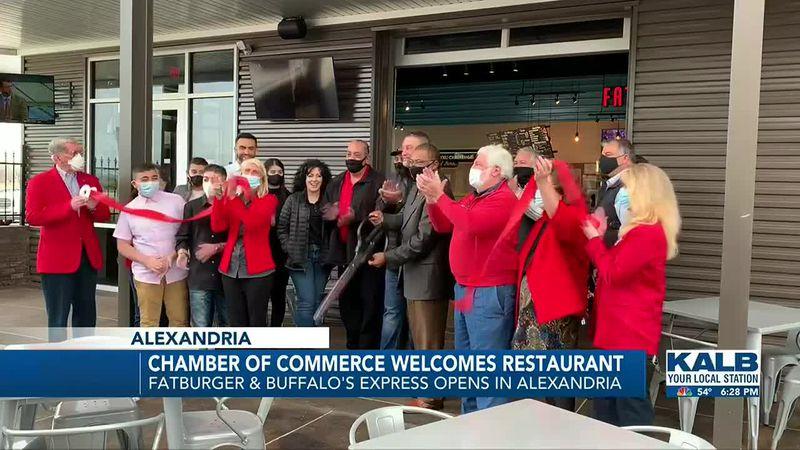The first Fatburger & Buffalo's Express opens in Louisiana.