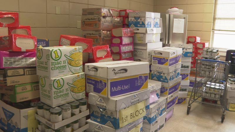 Isabella Malveaux is a 7th-grade student at Grant Junior High and helped donate thousands of...