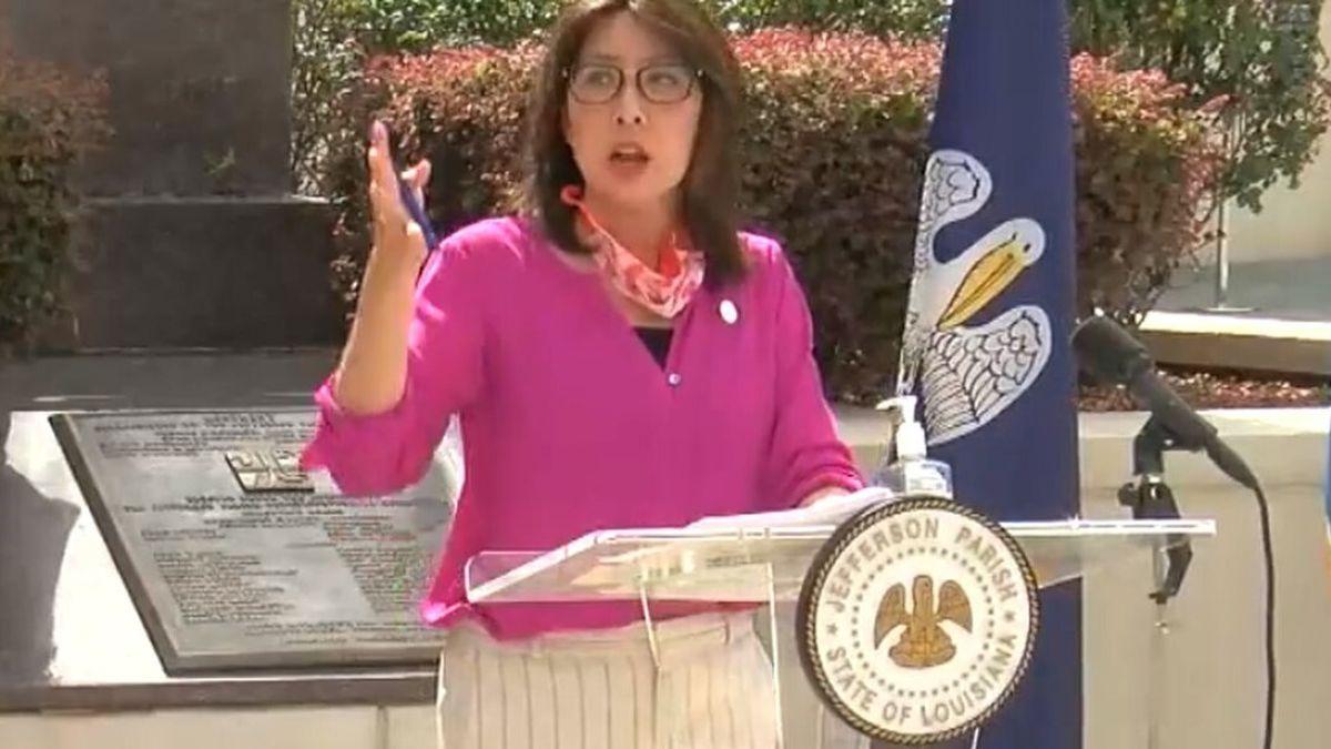 Jefferson Parish President Cynthia Lee-Sheng