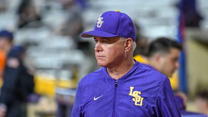 LSU baseball head coach Paul Mainieri