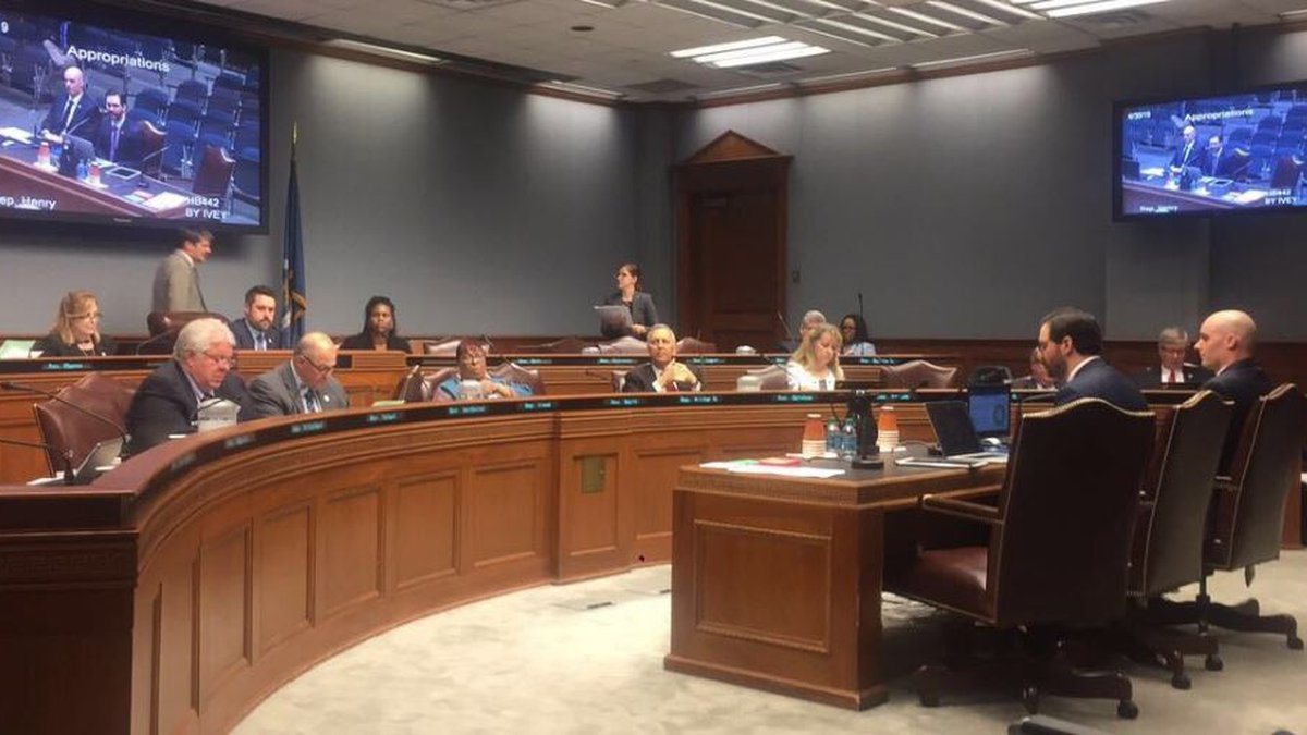 Rep. Barry Ivey, R-Baton Rouge, discussed a bill Tuesday that would fund IT and cybersecurity...