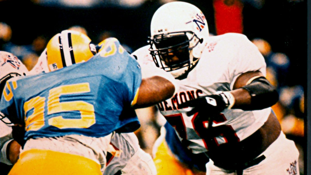 Marcus Spears in action against Southern