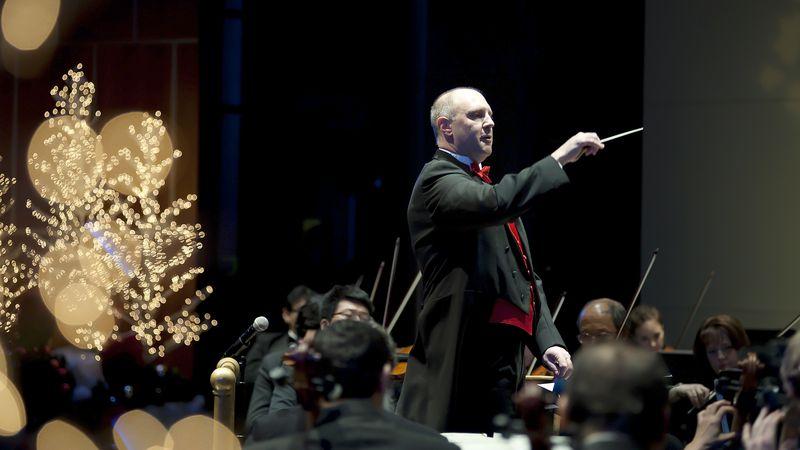 Conductor Josh Zona: RSO Photo
