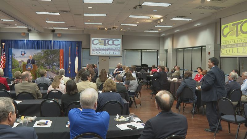 The North Rapides Business and Industry Alliance got to meet in-person for the first time in...