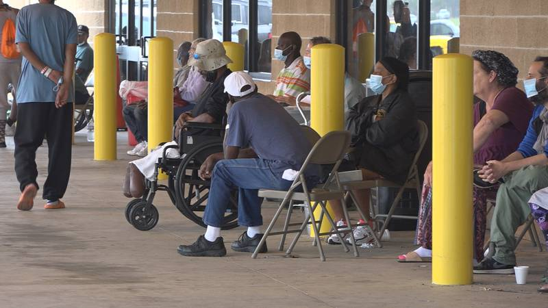 Currently, at the Alexandria mega-shelter, nearly 300 evacuees remain sheltered there with no...