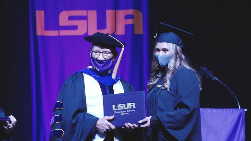 LSUA held its Spring 2021 Commencement on May 13, 2020.