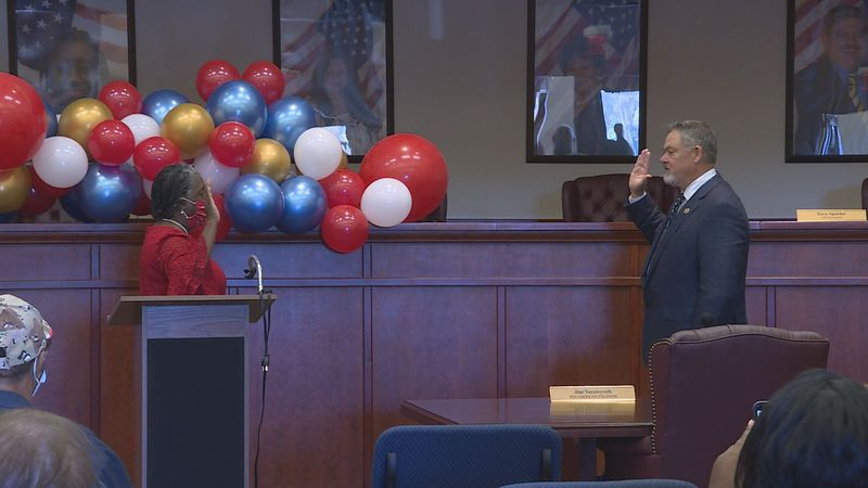 Monday morning at City Hall, Mayor Todd took an oath and will begin her eighth term in public...