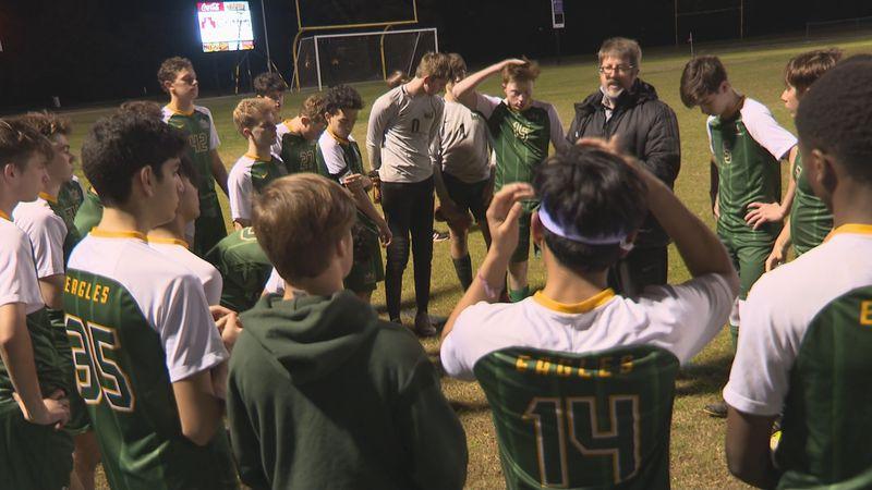 Menard Eagles soccer team