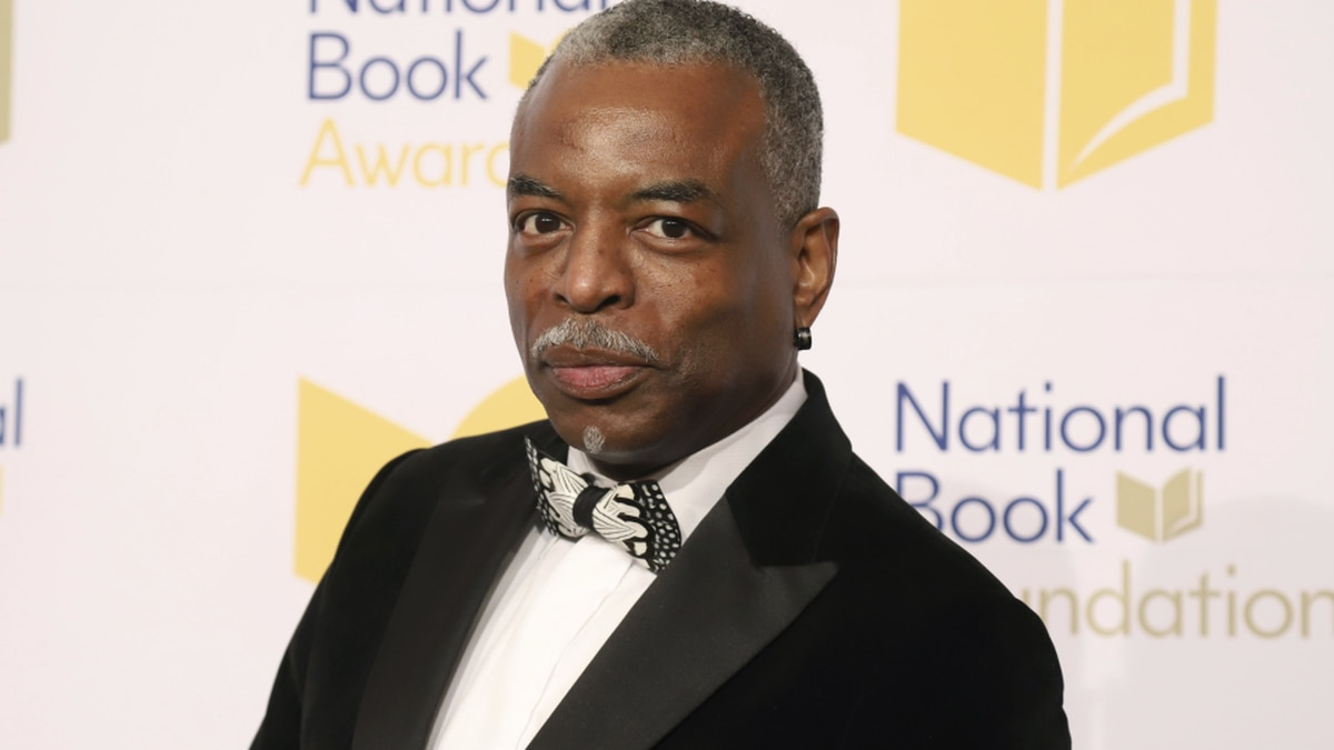 FILE - LeVar Burton attends the 70th National Book Awards ceremony in New York on Nov. 20, 2019.