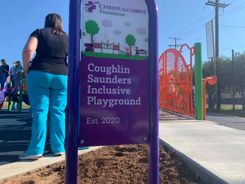Before this park opened, the closest playground designed for special needs children was more...