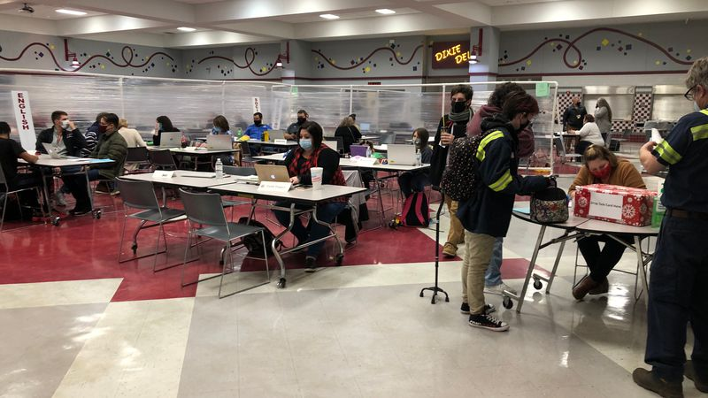 Pineville High School created Rebel Relaunch so that students can improve during a hard year.