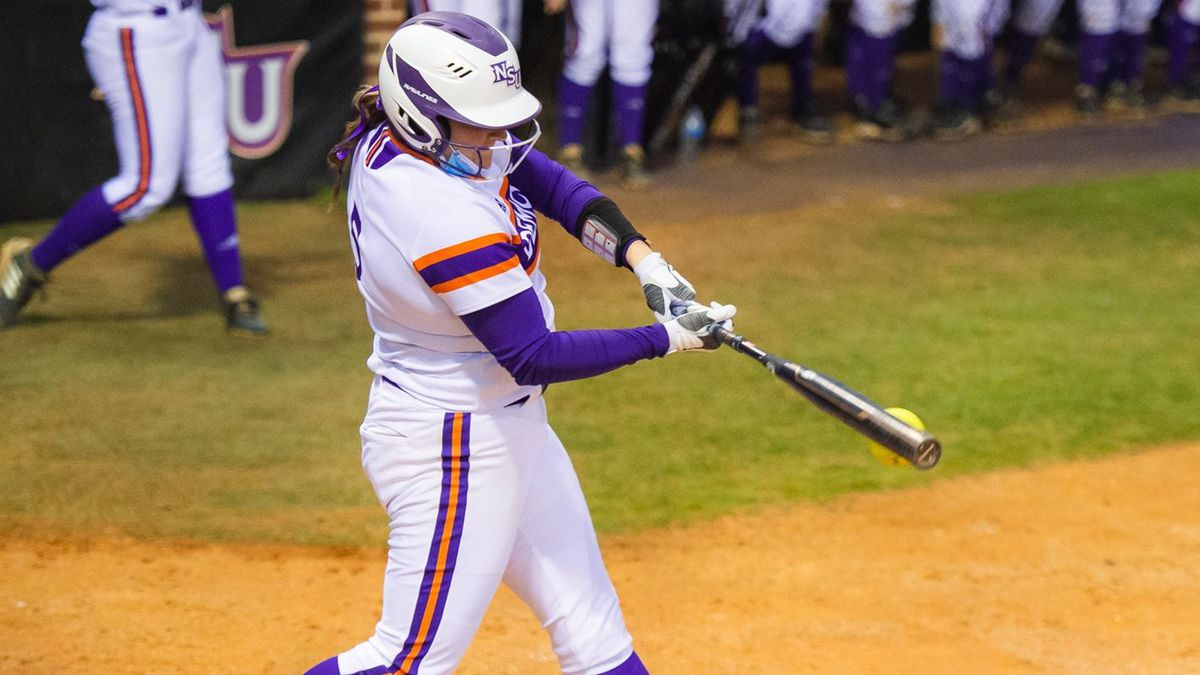Jensen Howell homered in NSU's 2-0 win over Middle Tennessee