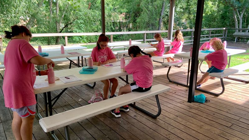Camp Girls on the Run is for 3-5 grade girls from around Cenla.