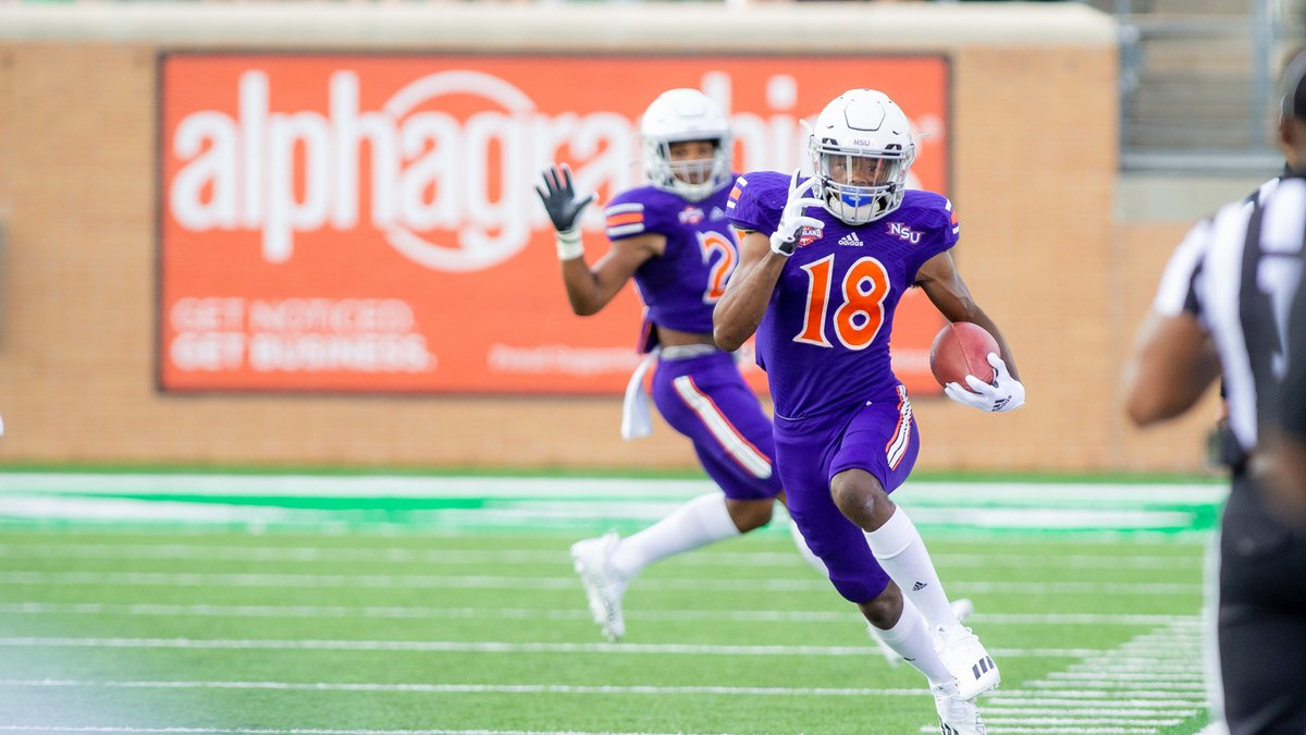 Jay Griffin (18) and Northwestern State will play at Southeastern Louisiana on Nov. 13, moving...