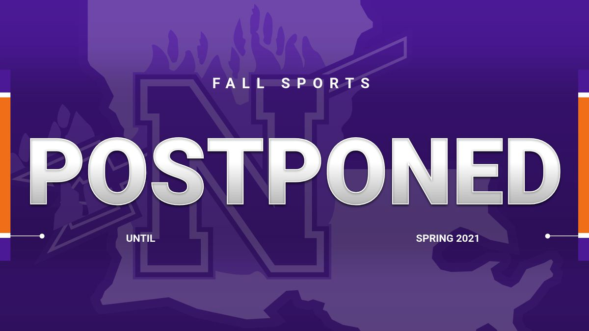 NSU Fall Sports Postponed Until Spring Semester