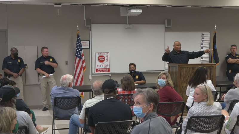 APD meets with Garden District residents to discuss crime concerns