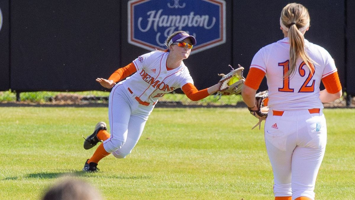 Elise Vincent and the Lady Demons host Central Arkansas in a three-game series this weekend.