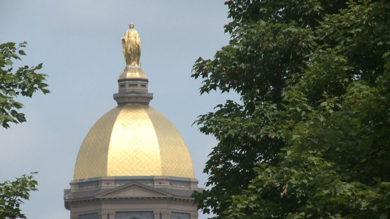 Notre Dame cancels classes for two weeks as Michigan State tells undergraduates to stay home...