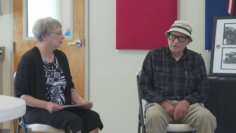 Paul Ferrant, a 99-year-old World War served in the United States Army Air Forces (before the...