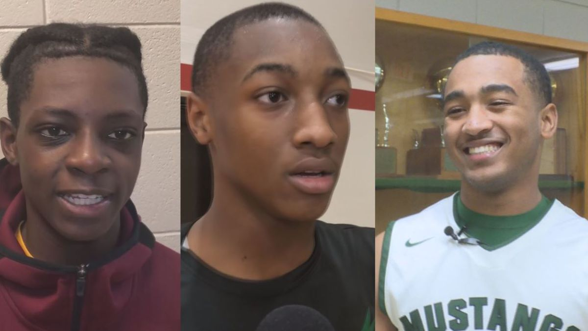 Grant's Deshawn Fisher, Menard's David Brevelle, and Rapide's Ky'Juwon...