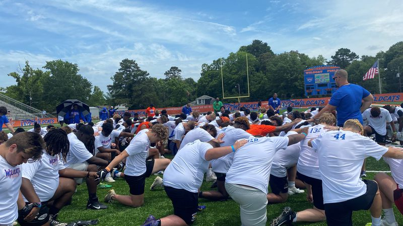 150 athletes from Louisiana, Texas and Mississippi took over Wildcat Field to showcase their...