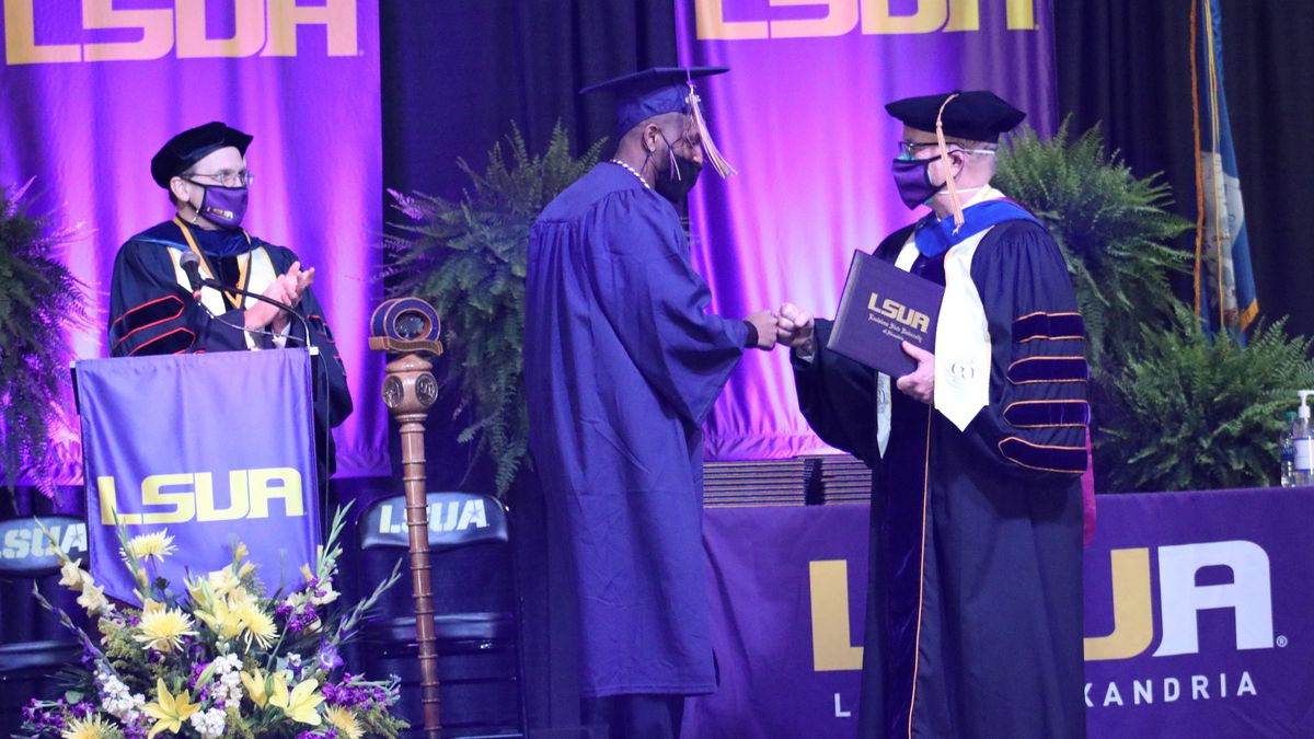 LSUA's 2020 Fall Commencement