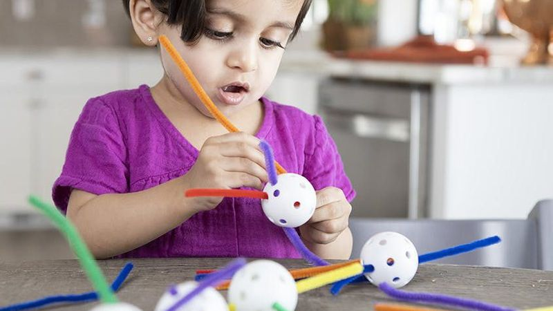 Lovevery provides free and easy to do crafts and games to keep children away from screens and...