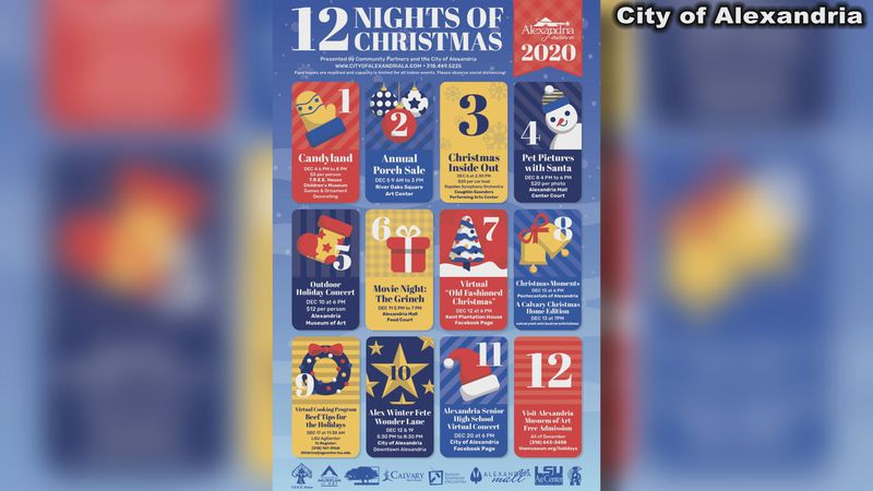 The City of Alexandria is making changes to their holiday events due to the pandemic.