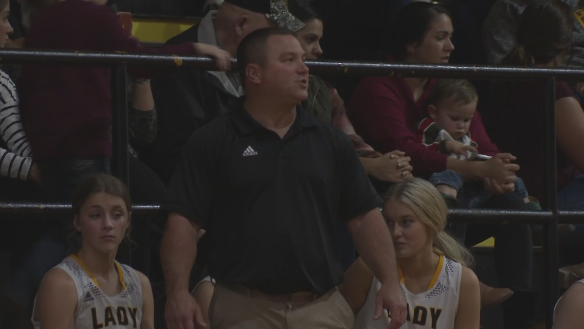 The Fairview Lady Panthers girls' basketball team routed the Midland Lady Rebels on Friday...