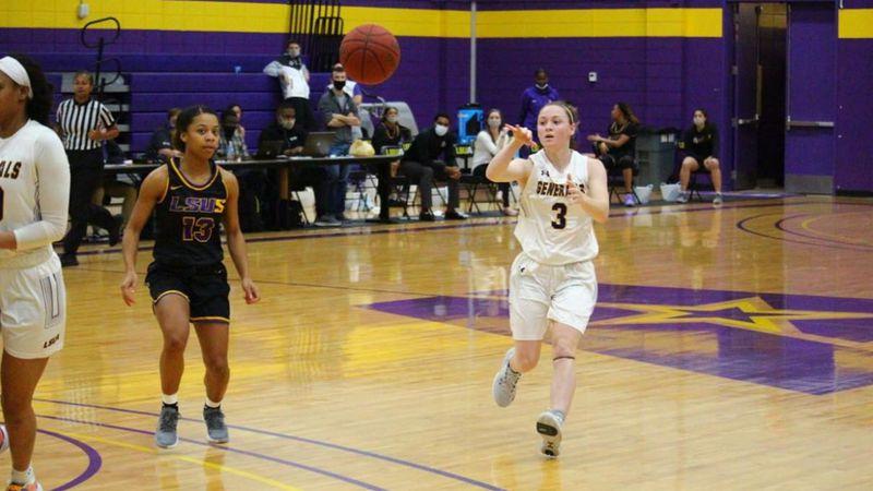 The slow start doomed the LSU-Alexandria women's basketball team, as it fell to LSU-Shreveport...