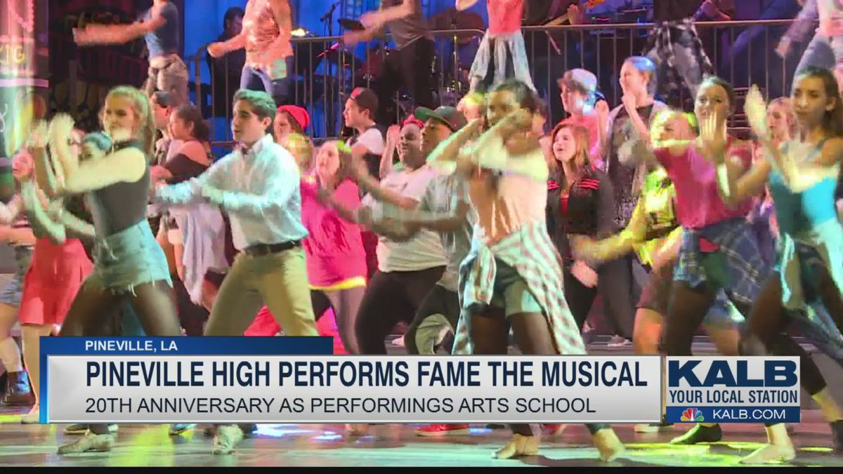 Fame the Musical at Pineville High School