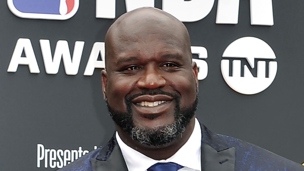 FILE - This June 24, 2019, file photo shows Shaquille O'Neal at the NBA Awards in Santa Monica,...