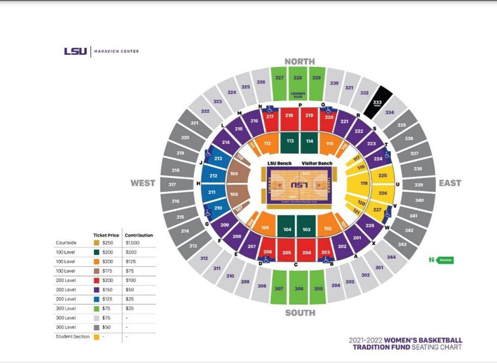 LSU Women's Basketball Ticket Prices
