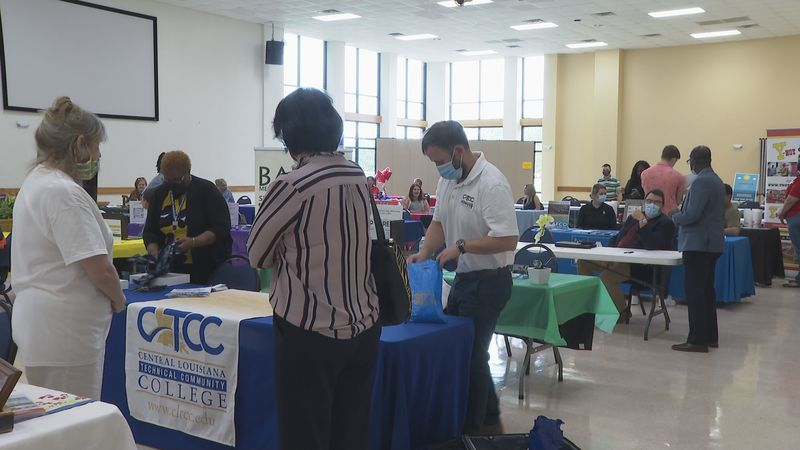 Local businesses gathered at LSUA to meet with students who are looking for a summer job or...