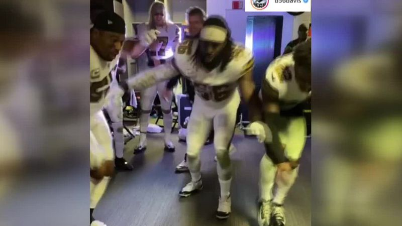 New Orleans Saints were fined, and lost a draft pick for locker room celebration.
